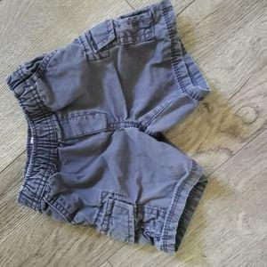 3/$12 The Children Place Shorts 12-18M